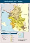 Σύγχρονος διοικητικός χάρτης Ν. Θεσπρωτίας