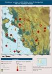 Επίκεντρα σεισμών >=4,5 Richter στον Ν. Θεσπρωτίας